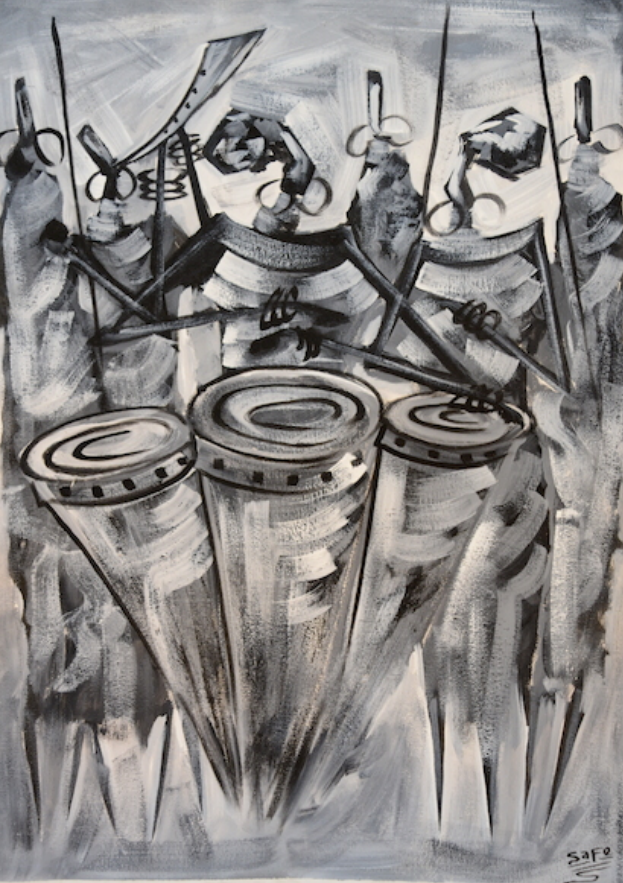 африканские барабаны