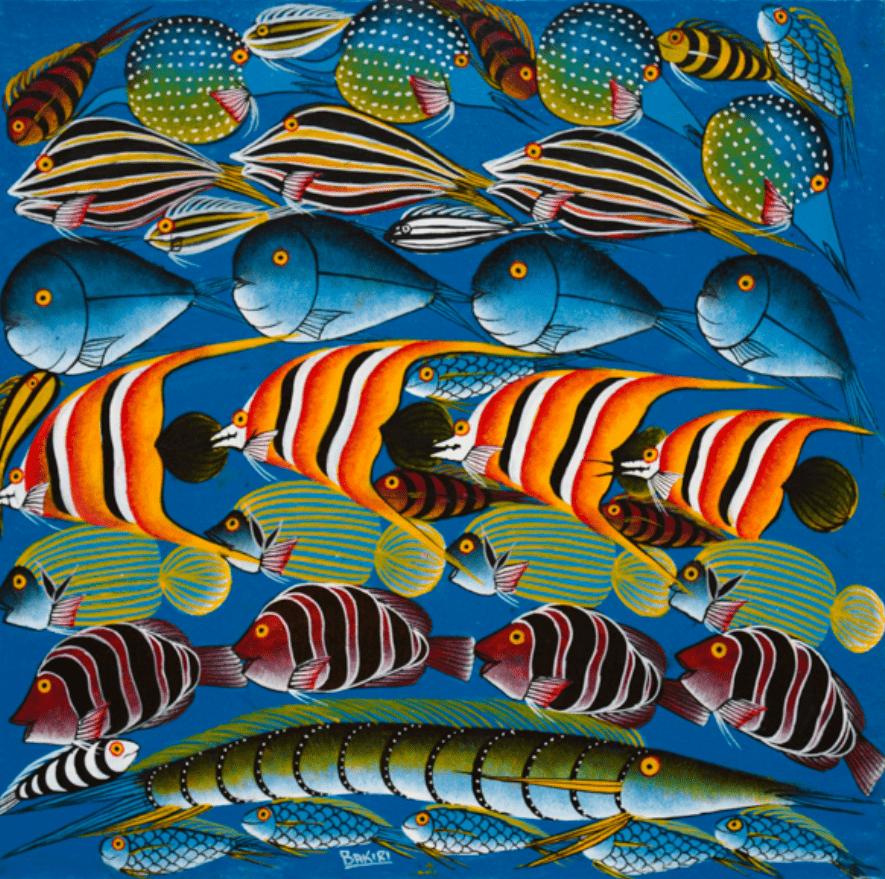 "Картина ""Парад рыбок"""
