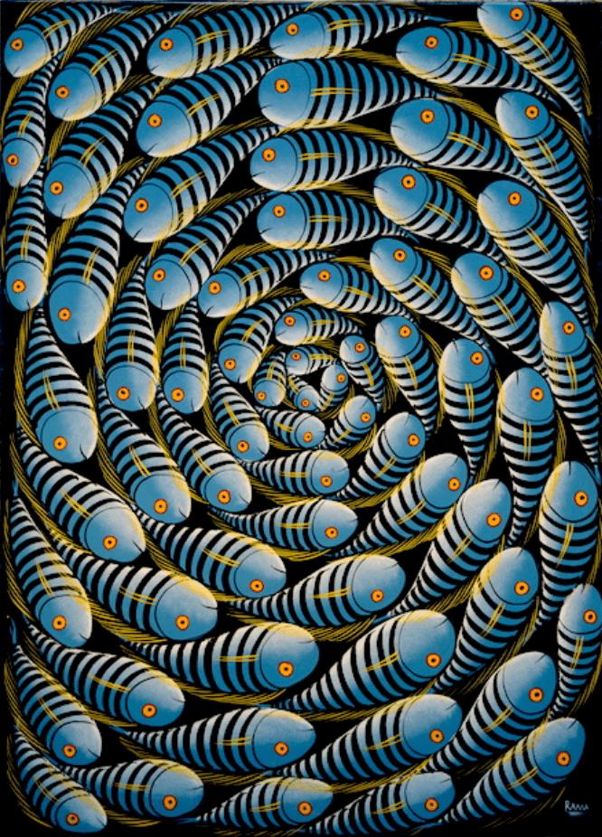"""""""Синие рыбки"""""""